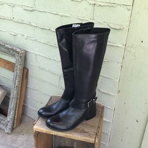 EUC Clark Leather Riding Boots size 9